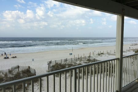 Beachfront!  Amazing View!! - Gulf Shores