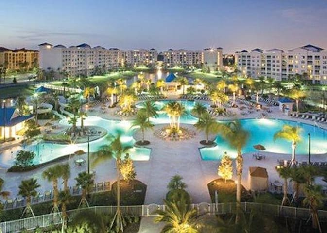 Sunny Florida in Orlando close to Disney.
