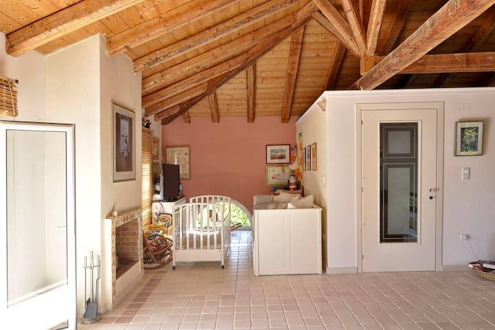 Il Portico Verde Villa in south Corfu - Lefkimmi - Villa