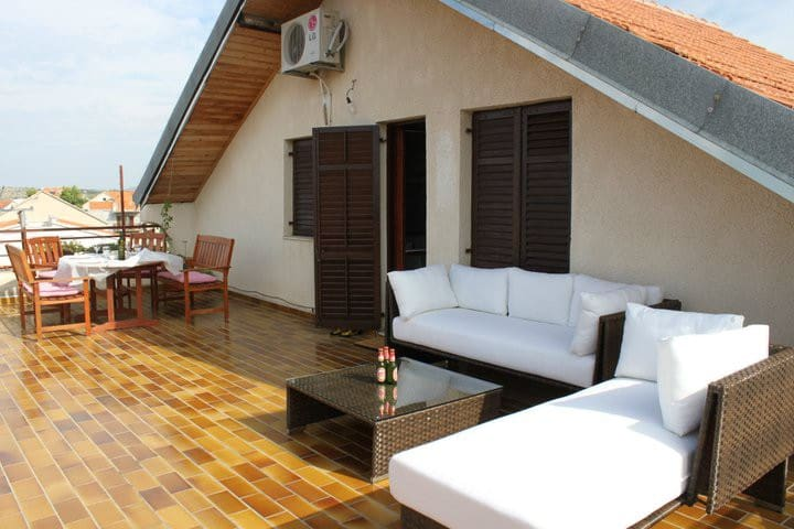 50 sqm terrace with seaview - Šibenik - Wohnung