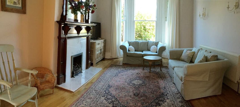 Spacious ground floor apartment