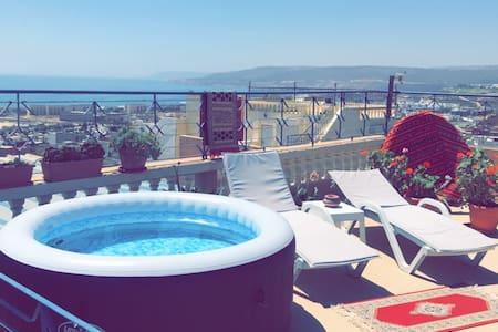 Appartement  Tamraght  2eme étage Terrasse vue mer