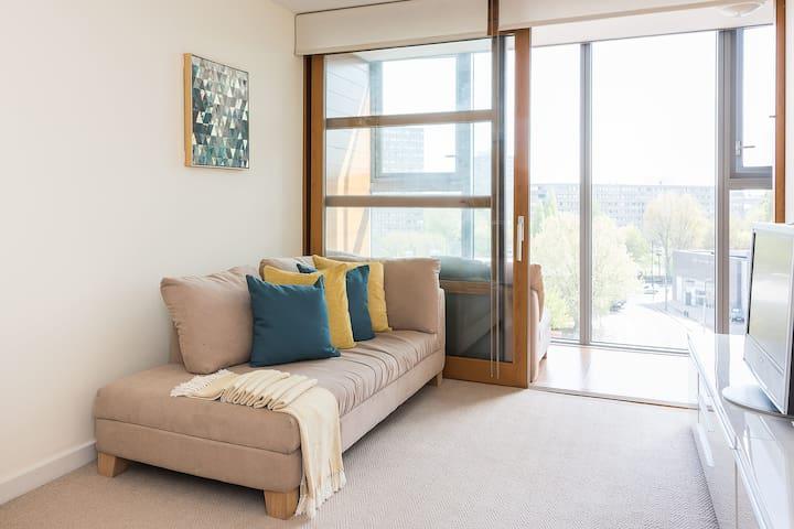 Modern 1BR Flat in Battersea - London - Apartemen
