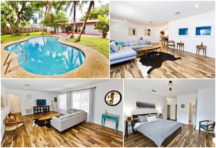 Luxury 4BR Home with a Pool in North Miami Beach - North Miami