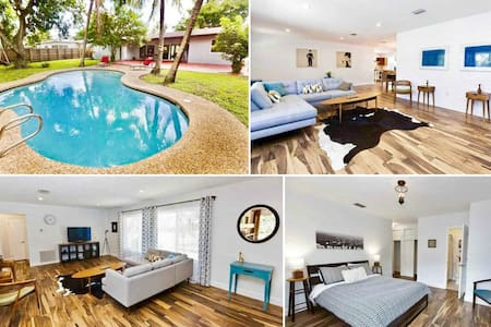 Luxury 4BR Home with a Pool in North Miami Beach - North Miami - House
