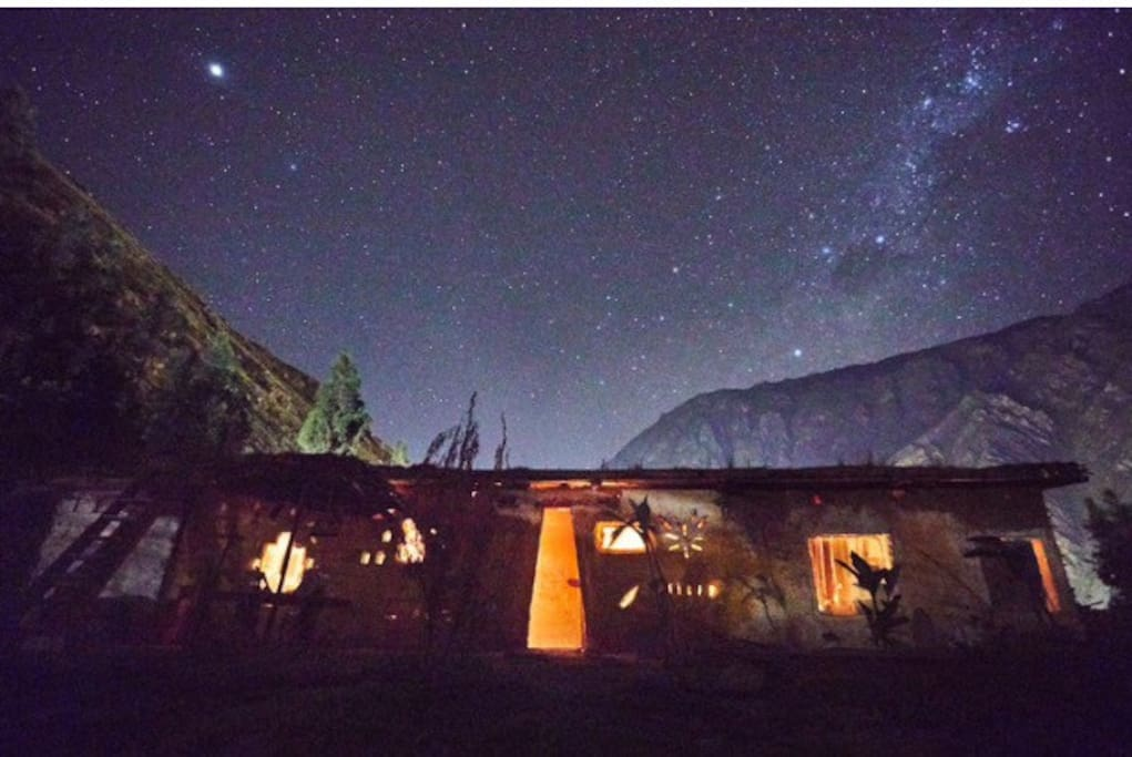 Our home under the stars.