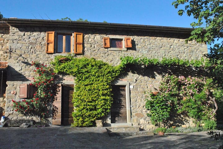 Lovely countryside house in Tuscany - Pratovecchio - Casa