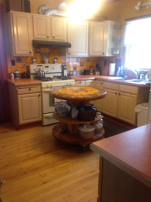 A great cooking kitchen where you may use it as your own.