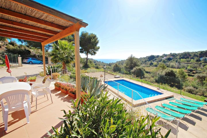 Dos Soles 6  - sea view holiday home with private pool in Costa Blanca