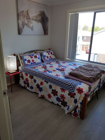 Brand New AC room with queen bed, private bathroom
