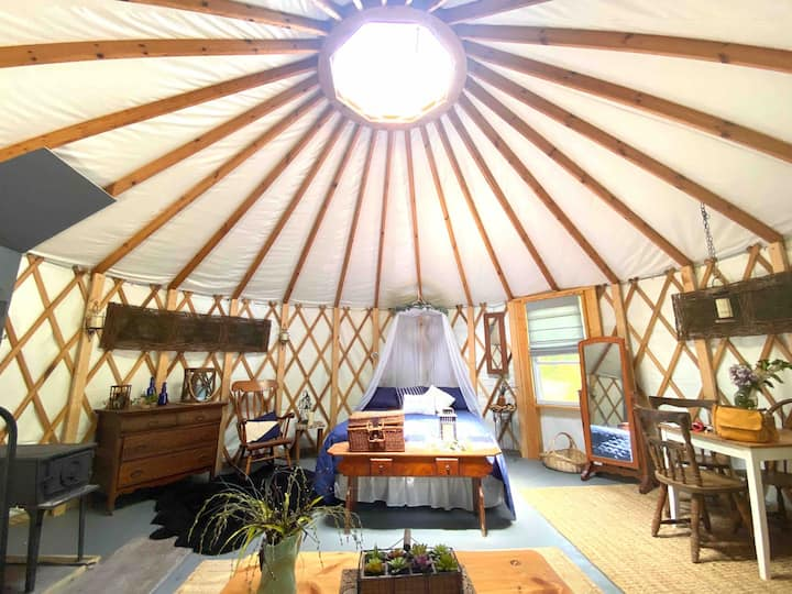 Yurt at the farm!