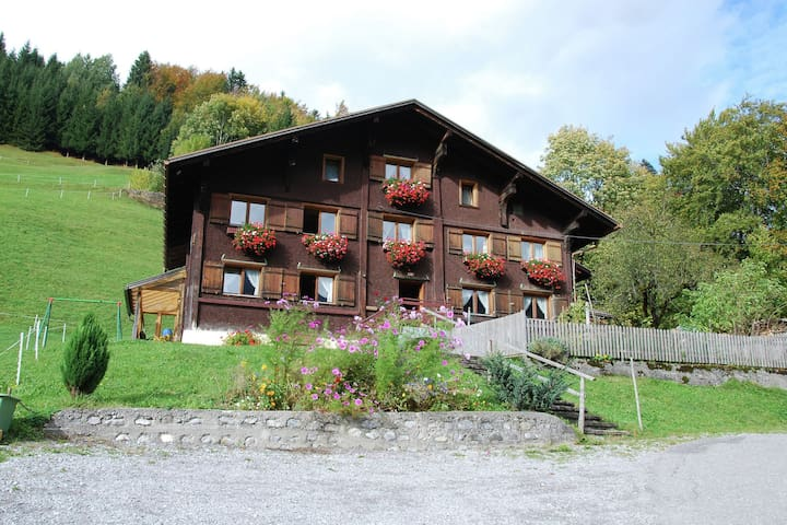 Beautifully Decorated Farmhouse in Walser Valley with Garden