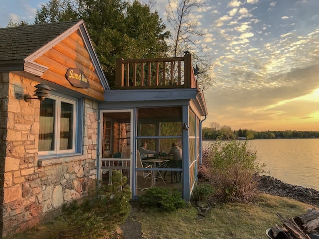 Sunset Cabin on Cedarbirch Island, Door County