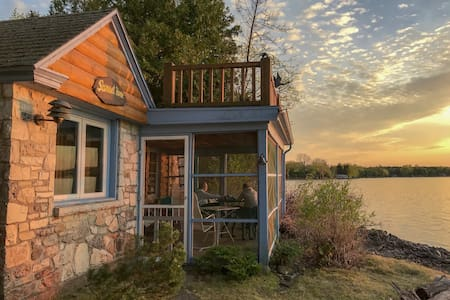 Sunset Cabin on Cedarbirch Island, Door County