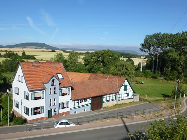 Gästewohnung, im SÜDHARZ, ca.100m²,ruhige Lage