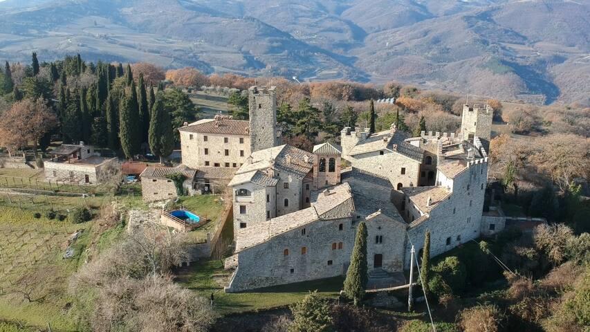 Assisi e Gubbio Castello di Giomici camera deluxe