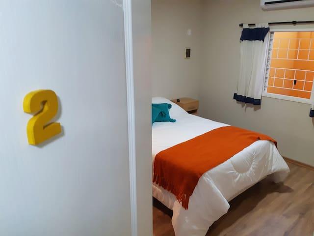 Habitación doble en Hotel Casagrande