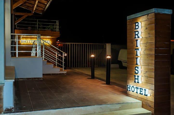 British Hotel Korce offers 4-star accommodation