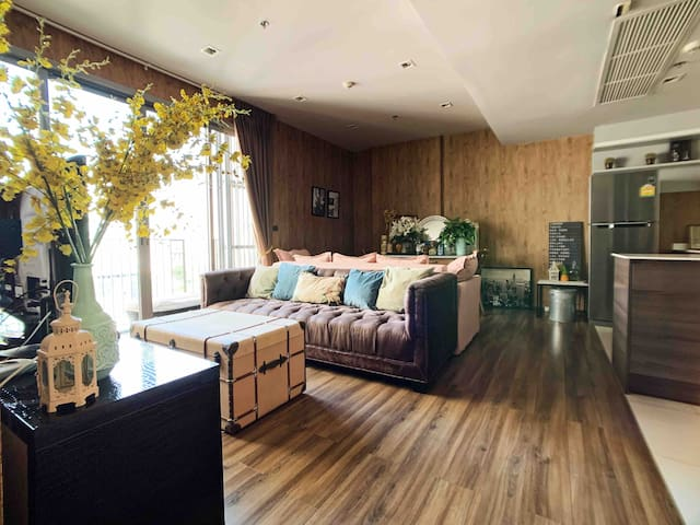 Stunning open house for 6pax  2bedrooms @Thonglor