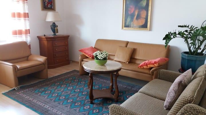 Schöne 2-Zimmerwohnung mit Balkon, Wohnfl. 65m²