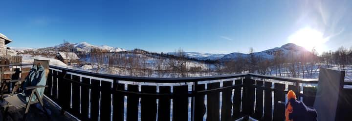 Ski-in /ski-out leilighet på Hovden