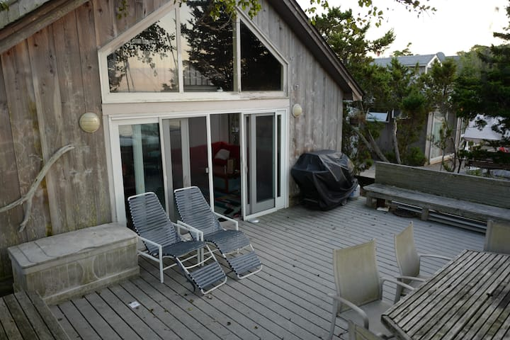 Bayfront House in Fair Harbor, Fire Island