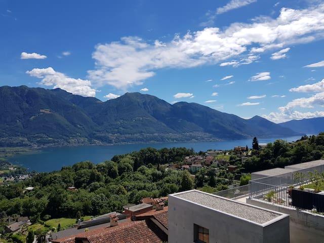 Aussicht von Terrasse