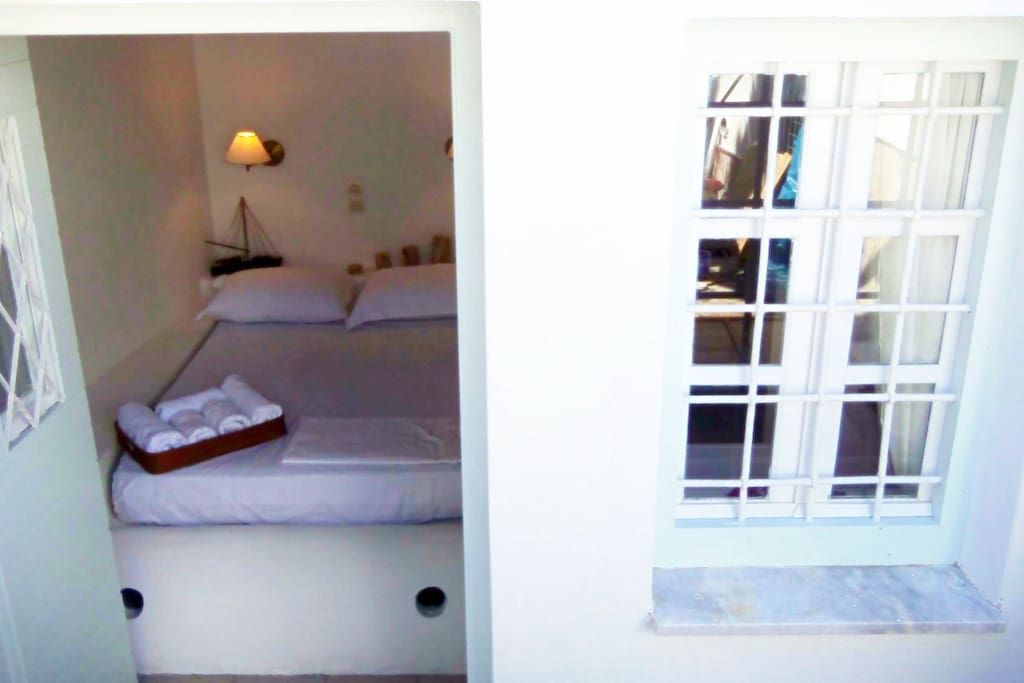 Your double room from outside