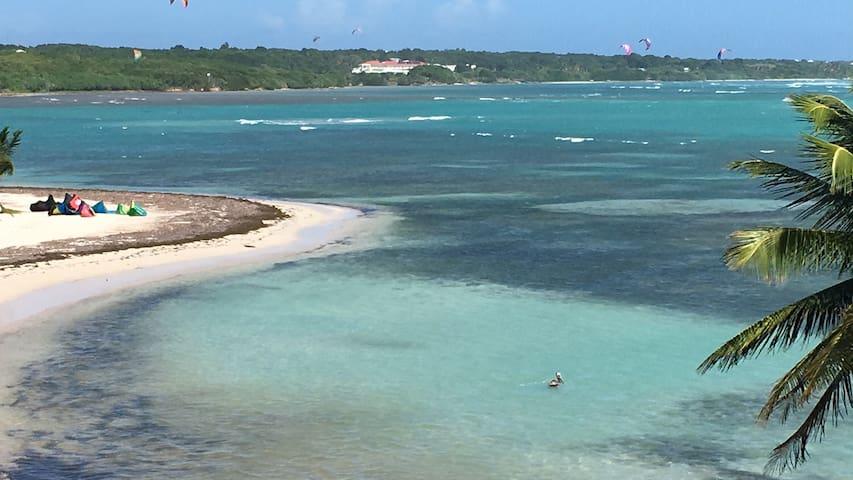 KITEAREA, vue  sur le lagon et piscine ! - GP - Apartamento