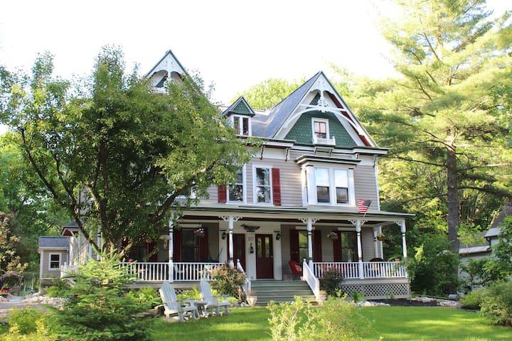 Slingerlands Grey Gables Gothic Victorian Duplex