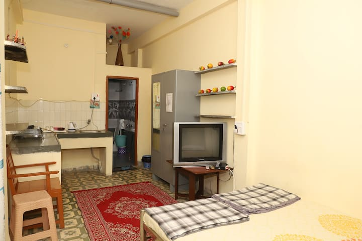 Comfortable Studio Ground at Gokul Homestay Indore