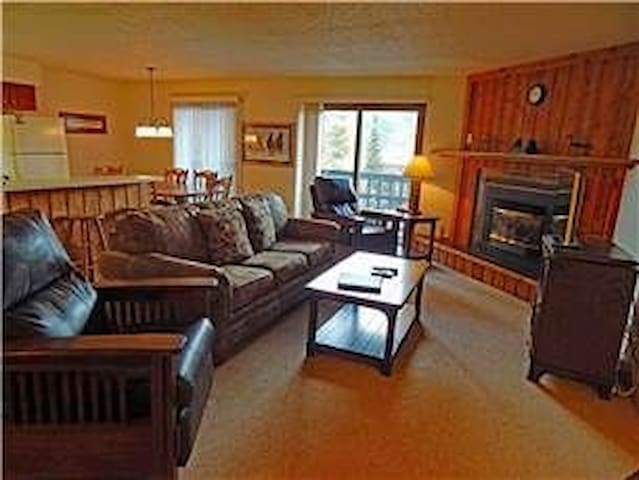 Ski Condo with free shuttle to Winter Park slopes