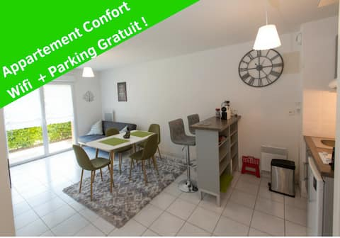 Charmant Appartement tout Confort