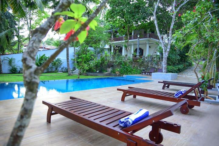 A Villa Close to Dalawalle Beach
