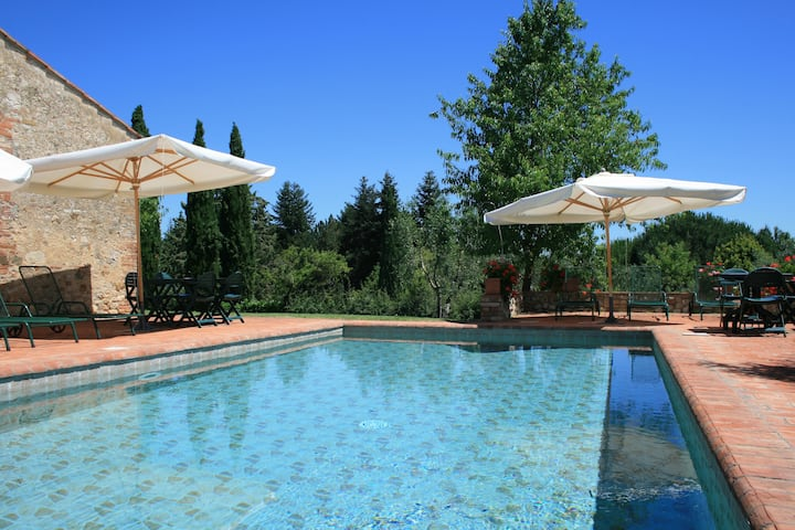 Country house with pool on Chianti Hills