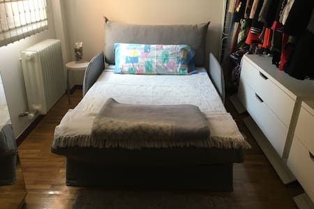 Cosy bedroom with own bathroom. - Fuenlabrada
