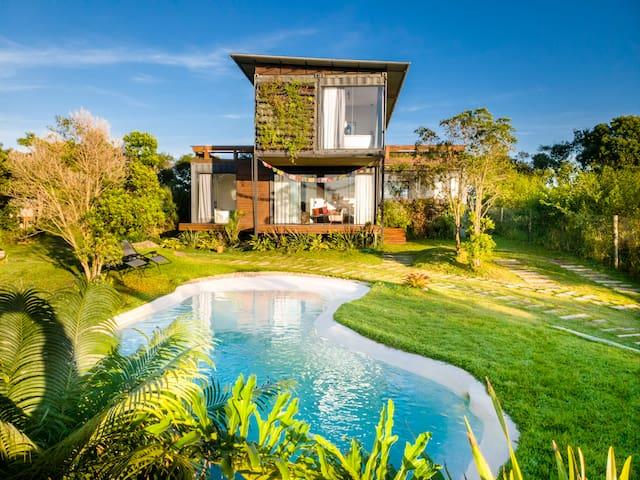 Villa Nyima III: conforto na Barra de Ibiraquera