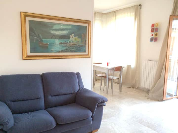 Apartment with 2 bedrooms in Rossano Stazione, with balcony - 50 m from the beach