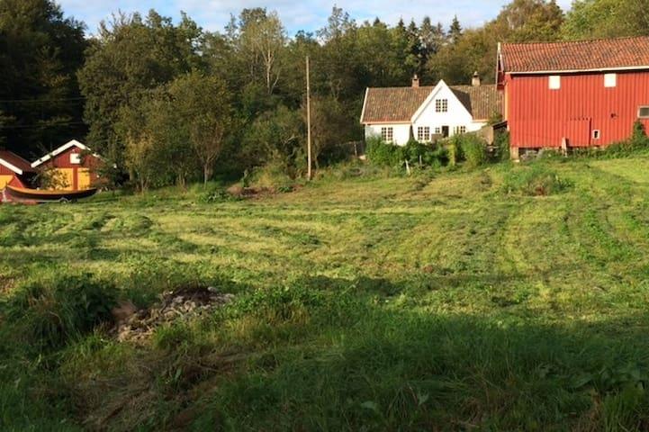 Landlig og usjenert småbruk på Nøtterøy