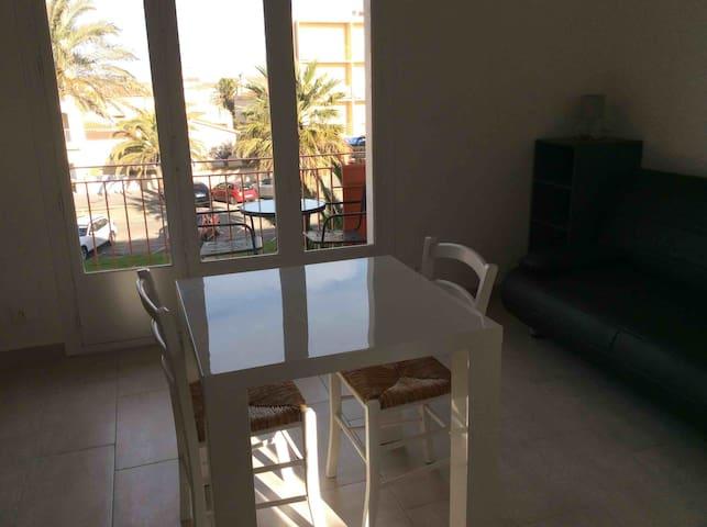 Appartement rénové 50m de la plage - Saint-Cyprien - Lägenhet