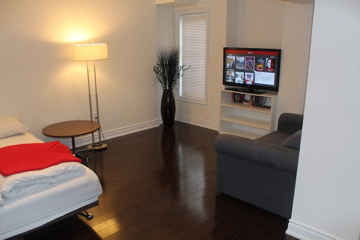 Walkout Basement apartment /Parking/TV in Vaughan