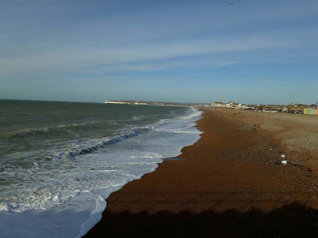 Our beach side