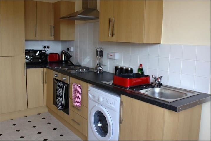 Chester Road West, Shotton - Shotton - Apartamento