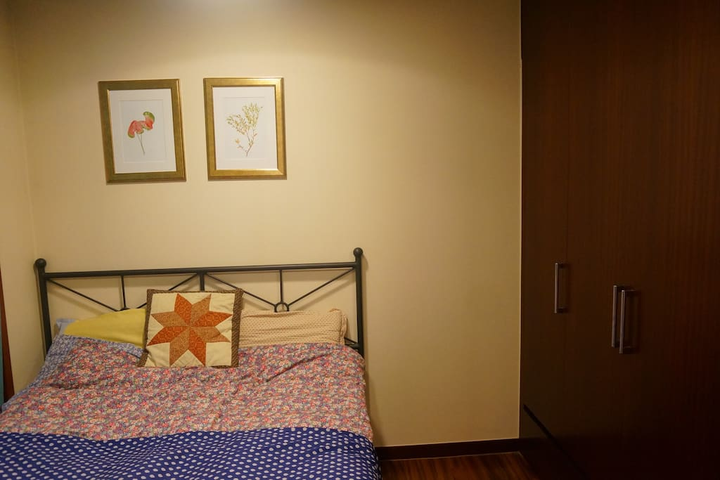 Private Guest Bedroom- with closet for guest