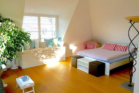 Design Loft Room, 50qm, own bath - Stuttgart