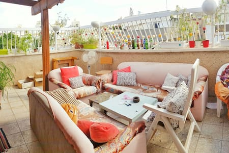 Private & Renovated ROOFTOP Apt - 12 mins to TLV - חולון - Lakás
