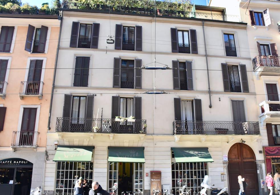 Corso di Porta Ticinese 12.