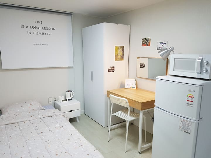 [S4]Clean and Comfortable 1BR Apartment @SNU stn.