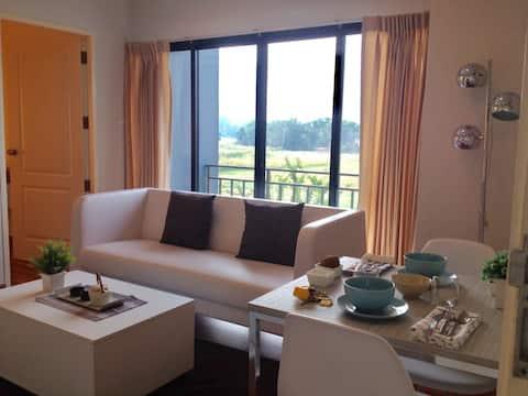Private room near Suvarnabhumi Airport/ABAC Bangna