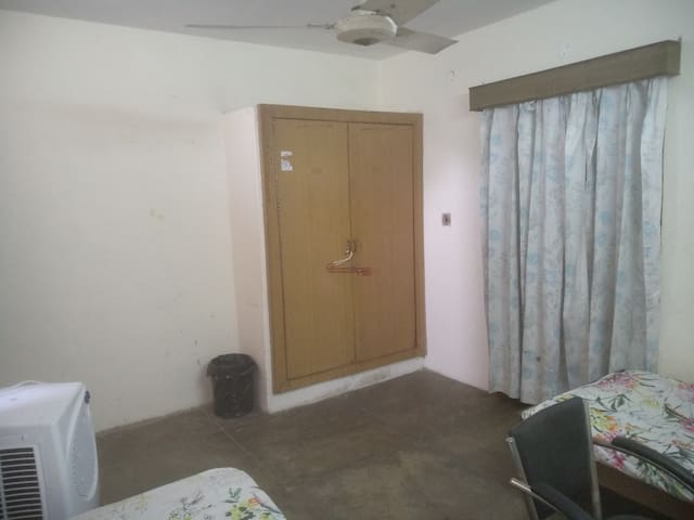 Non A.C. Pvt. Twin Room with Kitchen & Shared Bath